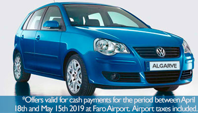 Special offer for Car hire in the Algarve